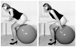 back strengthening exercises - squat - active sitting